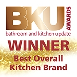 Logo for BKU Award, Best Overall Kitchen Brand of the Year 2018