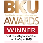 Logo for BKU Award, Best Sales Representative of the Year 2015