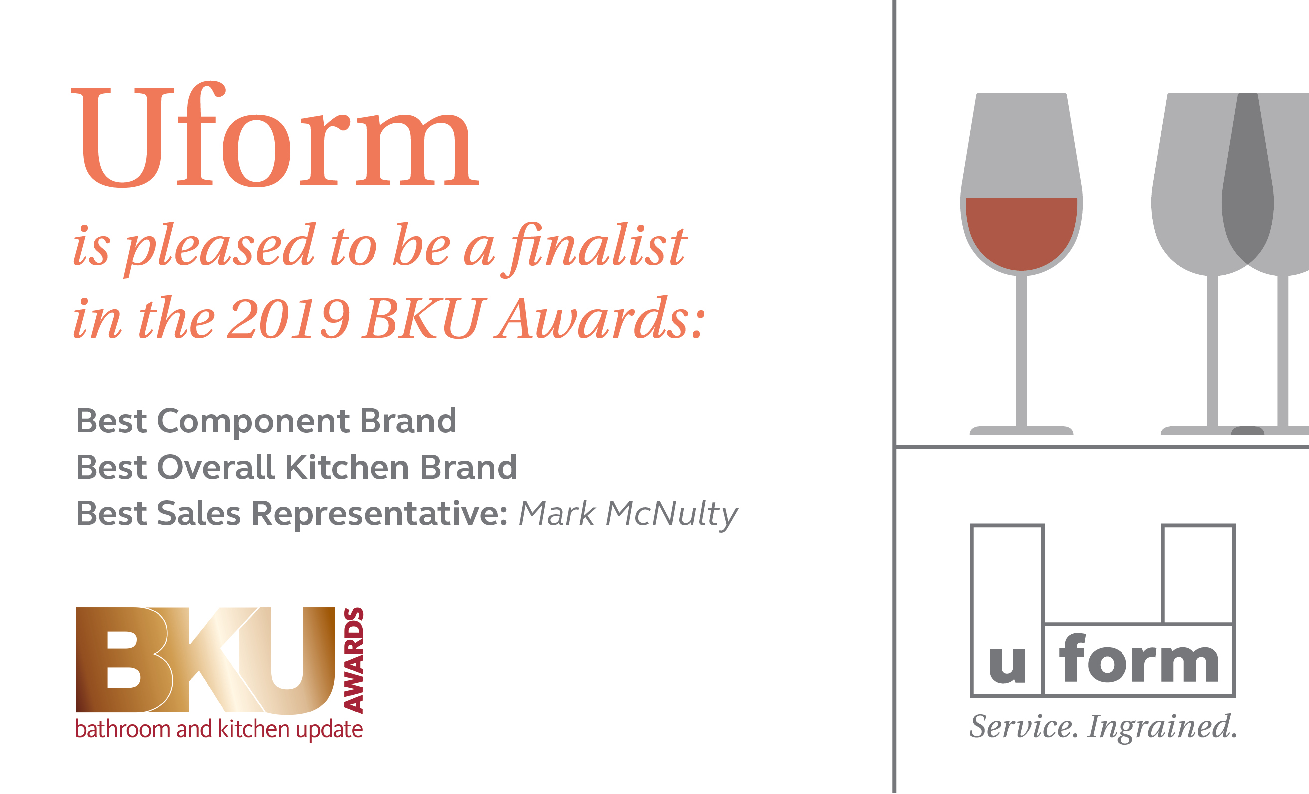 Uform announced finalist - BKU Awards 2019