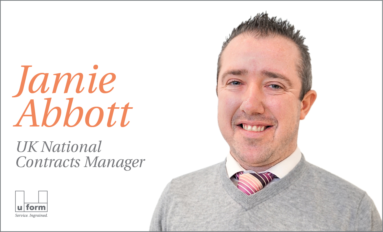 Jamie Abbott UK National Contracts Manager