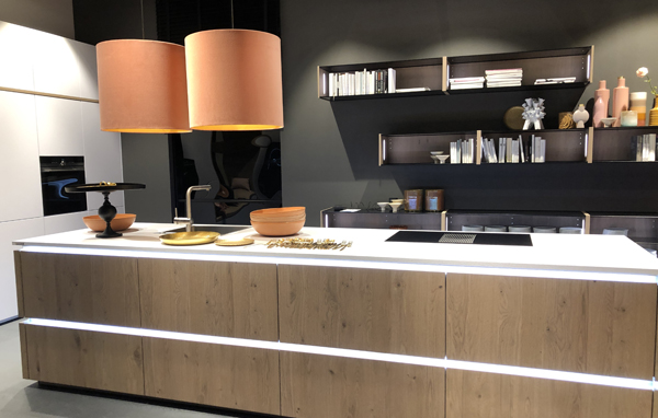 Living Kitchen Exhibition, Kitchen Displays Featuring Timber Island Unit